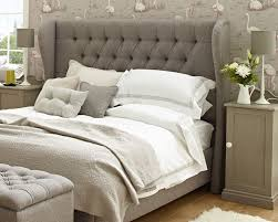 grey upholstered sleigh bed. Grey Upholstered Headboard Ideas With Padded Best Interalle Full Size Fabric Nailhead White Linen Tufted Modern Headboards Single Bedroom Furniture Queen Sleigh Bed