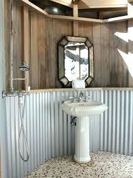 metal shower stalls corrugated metal shower corrugated metal shower home design ideas pictures corrugated metal outdoor metal shower