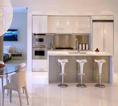 apartment kitchen design. Brilliant Apartment Luxury Modern Apartment Kitchen Design Can Be Decor With White Ceramics  Floor Add The Beauty Inside House Ideas Cabinet  On