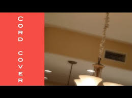 diy how to make a chandelier cord cover