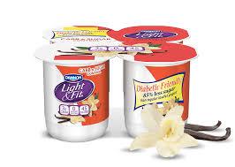 Great Value Light Vanilla Greek Yogurt Nutrition Facts Vanilla Cream Carb Sugar Control Light Fit
