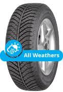 <b>Goodyear Vector 4Seasons</b> Tyres at Blackcircles.com