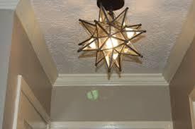 image of star light fixture