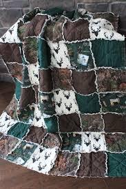 Best 25+ Camo blankets ideas on Pinterest   Camo stuff, Camo baby ... & Rag QuiltThrow Quilt Camo Blanket Deer Quilt Hunting by RozonsRags Adamdwight.com