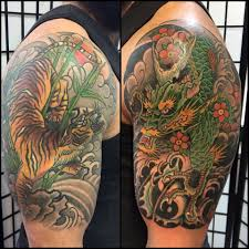 La Tigre E Il Dragone Japan Tattoo Matteo Barbi