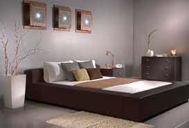 furniture color combination. Classy Bedroom Colour Schemes Which Show Your Personalities: Magnificent Modern Style Gray Interior Color Furniture Combination