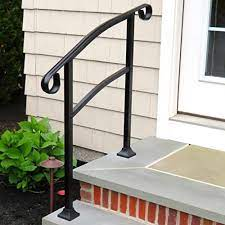 The first step will be to install the rail posts. Porch Hand Rails Designs Kits And More