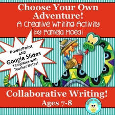 Choose Your Own Adventure Story Template Choose Your Own Adventure Story Template Ppt And Google Slides For