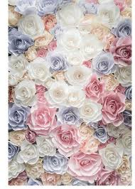 Flower Wall Paper Us 10 18 36 Off Floral Vinyl Cloth Wedding Flower Wallpaper Photography Backdrops For Newborn Children Baby Photo Studio Portrait Backgrounds In