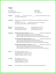 Free Resume Templates Example Cv Uk Blank Form Advice Inside 87