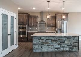 Rustic Beech Cabinets Kitchens Harlow Builders Inc