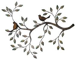 birds metal wall art home garden collections branches birds decorative metal branches birds decorative metal wall on love birds metal wall art with birds metal wall art sciolist fo
