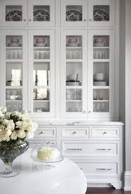 Beautiful White Kitchen Inset Cabinets Glass Doors Marke Countertops