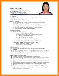 Resume Format And Examples Cv And Application Sample Examples Of For Job Applications Perfect 20