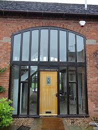 The old back door windows prior to replacement