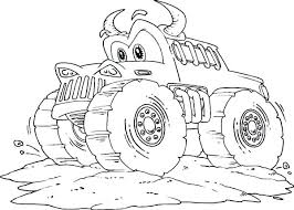 Monster Truck Coloring Pages Free Coloring Library Truck Coloring
