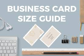 Business Card Sizes And Dimensions Solopress