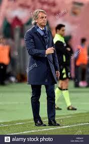 Roma, Italia 1 maggio 2016 Roberto Mancini allenatore di Inter durante il  campionato di Serie A TIM match tra Lazio e internazionale presso lo Stadio  Olimpico di Roma il 1 maggio 2016.