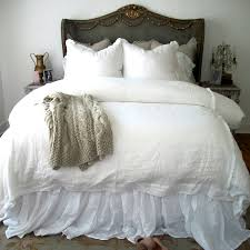 vintage inspired bedding gathered ruffle bed skirt a cottage in the city
