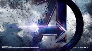 avengers endgame logo wallpaper 4k ...