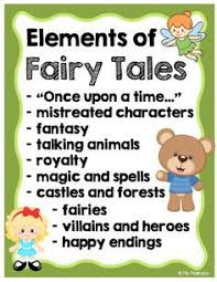 Elements Of A Fairy Tale Fairy Tales Elements Of A Fairy Tale Fairy Tales Unit Fairy