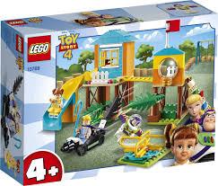 <b>Конструктор LEGO Toy</b> Story Приключения Базза и Бо Пип на ...