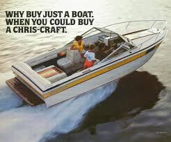 the chris craft stinger arch over troubled waters classic cc scorpion 210 brochure