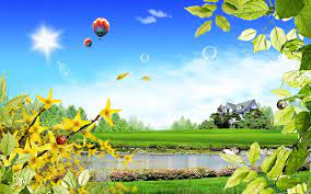 3D Summer Scenery Wallpapers - Top Free ...