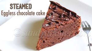 Steamed Chocolate Cake Eggless Chocolate Cake Recipe Sandhyas