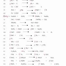 balancing equations worksheet answers resu on balancing and key chemistry works full size