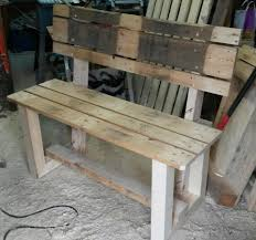 wooden pallet bench idea wooden pallet bench ideas