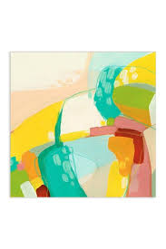 floating tempered glass wall art