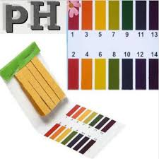 Us 0 51 37 Off Aquarium Water Ph Test Strips Universal Full Range Litmus Paper 1 14 Acidic Alkaline Indicator Food Urine Lab Soil Body Tester In