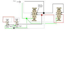 how do i go about wiring two split circuit outlets controlled by two full size image