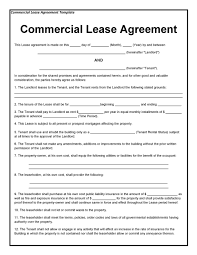 You can find different kinds of form but you can choose. 26 Free Commercial Lease Agreement Templates ᐅ Templatelab