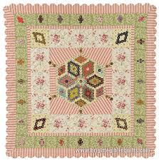 Baby Hexagon Quilt Pattern | Brigitte Giblin Quilts & Baby's Hexagon Quilt Adamdwight.com