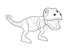 Small Picture Zoomer Dino Dinosaur coloring page for kids printable free Kids