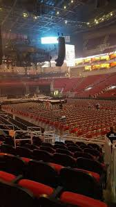 Kfc Yum Center Section 113 Row L Home Of Louisville