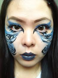 blue fairy makeup ideas