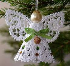 Christmas Angel Ornaments Free Crochet Pattern | Angel, Crochet ...