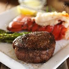 Filet Mignon Abd Tasty Lobster Tail ...
