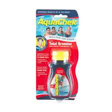 Aquachek Select Color Chart Aquachek Red Total Bromine Test Strips Products In 2019