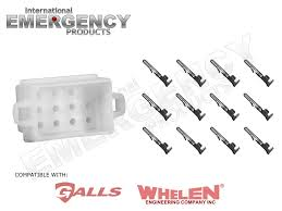 whelen siren wiring diagram street thunder facbooik com Whelen 9000 Series Wiring Diagram 12 pin connector plug for whelen traffic advisors \& sirens whelen edge ultra 9000 series wiring diagram
