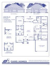Color Floor Plan And Brochure Sample  Florida Home Style Standard Florida Home Builders Floor Plans