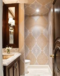 Even powder rooms need pizzazz, says Ernst Hupel of 2H Interior Design. He  went bold with an award-winning bathroom that features Turkish-influenced  ...
