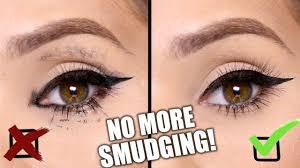 stop eyeliner mascara smudging 8 simple tricks beauty hacks