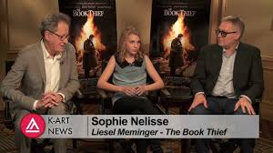 interview the book thief actors and director