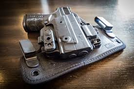 the term hybrid originally referred to a holster made of two materials typically leather and kydex the traditional hybrid concept used leather as a