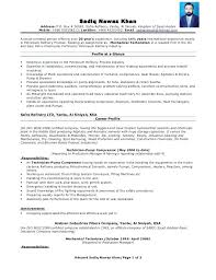 Resume For Oil And Gas Industry – Foodcity.me