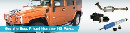 hummer h2 replacement parts